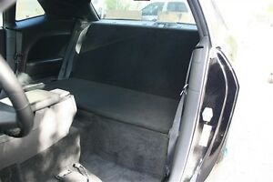 09 14 dodge challenger rear back seat delete light weight. Black Bedroom Furniture Sets. Home Design Ideas
