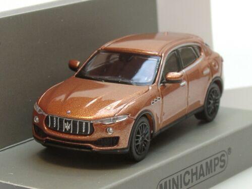 870 123201-1:87 2018 Minichamps Maserati LEVANTE braun metallic