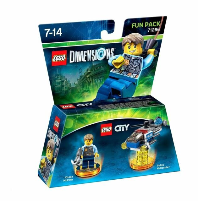 Lego Dimensions Fun Pack Lego City Chase Mccain 71266 Platform-Independent New