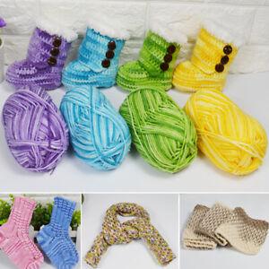 NEW-Soft-Middle-Thick-Crochet-Yarn-Yarn-Wool-Knitting-Cotton-Baby-Milk-Hand-DIY