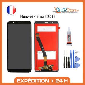 Ecran lcd + vitre tactile Huawei P Smart 2018 Original + colle + outils
