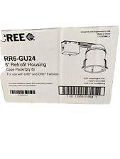 6 Remodeling Recessed Can Lightnew Retrofit Housing Cree Rr6 12w Gu24