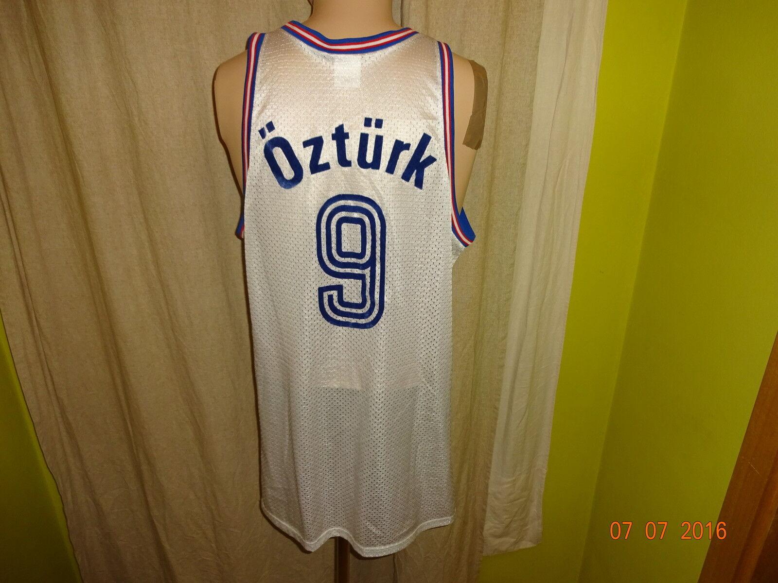 ALBA BERLIN Original Erima maillot 1991-1994  Alba  + Nº 9 Öztürk Größe XL Top