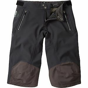 Madison DTE para Hombre Softshell  Pantalones cortos, Negro X-Grande Negro  costo real