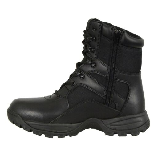 Milwaukee Leather Men/'s Tactical Boot W// Lace Up /& Side Zipper Entry **MBM9105