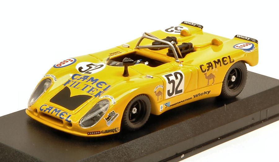 Porsche 908 02 Flunder  52 21th Lm 1973 A. Wichy   M. Olivar   P. Carron 1 43