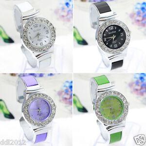 Fashion-Womens-Crystal-Rhinestone-Dial-Analog-Quartz-Bracelet-Wrist-Watches-New