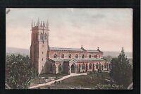 L@@K  Aysgarth Church 1900's ? Postcard Yorkshire
