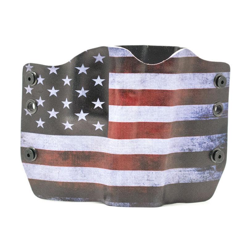 Taurus, RWB USA Flag, OWB Kydex Gun Holsters