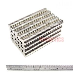 1000 Magnets 10x1.5 mm Neodymium Disc strong thin round magnet 10mm dia x 1.5mm