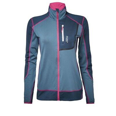 North Bend Nevis Zip Camicia Donna Pile Blu- Rinfresco
