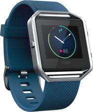 Artikelbild Fitbit BLAZE Large Blau-Silber Schrittzähler Distanzmesser  Ausstellungsstück