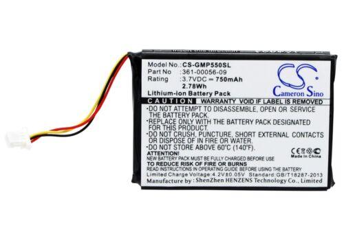 361-00056-09 750mAh Battery For Garmin 010-11925-10 Pro 550 dog training