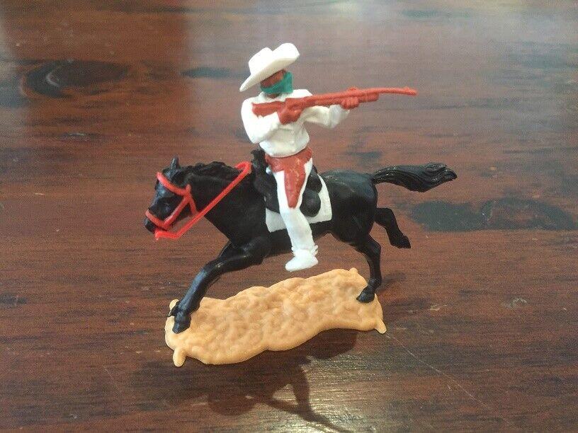 Timpo Masked Bandit Mounted - White  Stetson  Bandit Hat - Wild West