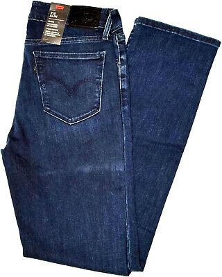 Levi's 712 Slim Fit Mid Rise Women's Jeans streched Indigo Braguette Zippée | eBay