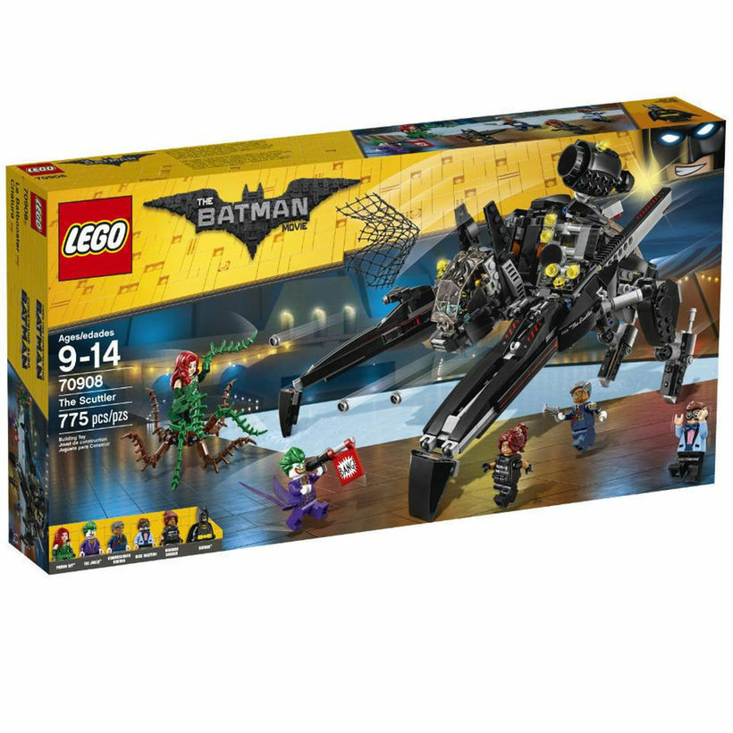 70908 THE SCUTTLER lego NEW batman MOVIE joker poison ivy LEGOS set gordon