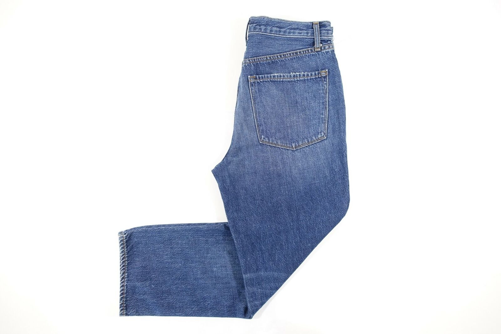 J BRAND FADED blueE 28 IVY RESURRECT HIGH RISE CROPPED STRAIGHT LEG JEANS WOMENS
