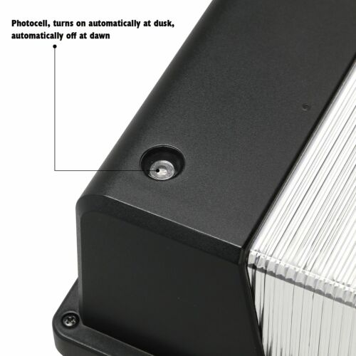 16W//25W Dusk to Dawn Photocell LED Wall Pack Outdoor Wall Mount Light 5000K