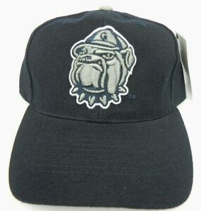 GEORGETOWN-HOYAS-NCAA-VINTAGE-STRAPBACK-RETRO-DARK-NAVY-CAP-HAT-NEW-TOP-WORLD