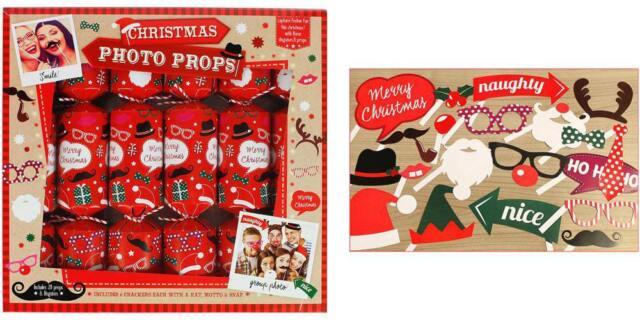 6 photo prop christmas crackers ebay 6 photo prop christmas crackers solutioingenieria Image collections