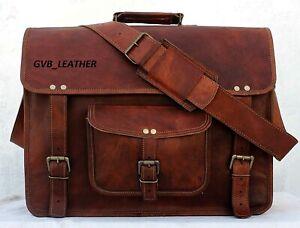 18-034-Men-039-s-Genuine-Vintage-Lightweight-Leather-Messenger-Bag-Shoulder-Laptop-Case