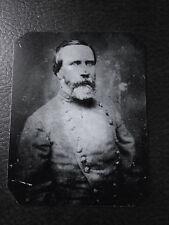 "Confederate Civil War GeneralRichard H.""Fighting Dick"" Anderson tintype C522RP"