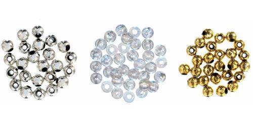 pack de 200 Trimits Extra Value Ronde Plaqué Perles 5 mm