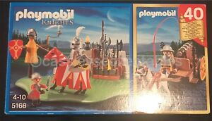 Playmobil-5168-Lion-Knights-Training-Castle-40th-Anniversary-Magic-Complete-New