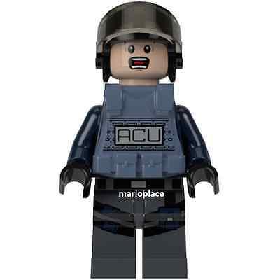 Male Scared 75915 LEGO Jurassic World ACU Trooper Vest Minifigure NEW D1