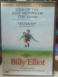 Billy-Elliot-DVD-Widescreen-2001-Julie-Walters-Gary-Lewis-Brand-New-Sealed