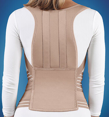 Posture Control Brace Support Abdominal Back Pain Wrap Soft Form FLA Orthopedics