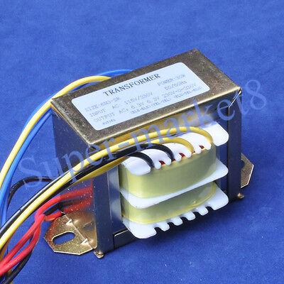 115/230V IN 230V+ 6.3V+6.3VAC Out 30W Power Transformer