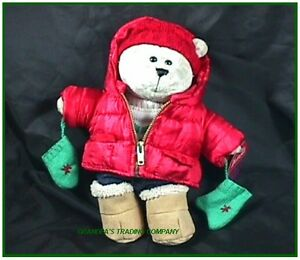 starbucks new bearista winter boy bear plush nwot 2006. Black Bedroom Furniture Sets. Home Design Ideas