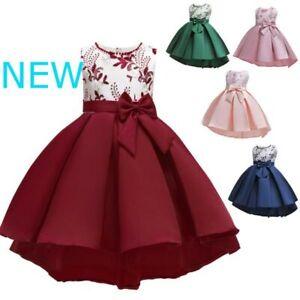 Tutu-Bridesmaid-Wedding-Princess-Kid-Flower-Dress-Formal-Girl-Dresses-Baby-Party