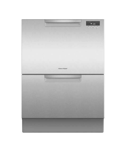 Fisher & Paykel Double DishDrawer Dishwasher, Stainless Steel (DD60DAX9)