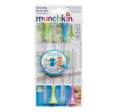 NEW Baby Toddler Sippy Spout Cup Brush Cleaner Set Straw Cups Clean Gunk Remover