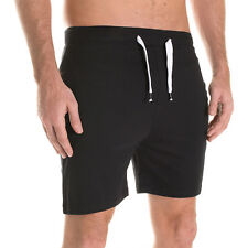 Plain Mens Cotton Shorts Wholesale Elastic Waist Blank Casual Gym