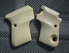 Beretta 950 BS .25 Deluxe Ivory Look Grips! Great For Scrimshaw Work! NICE!