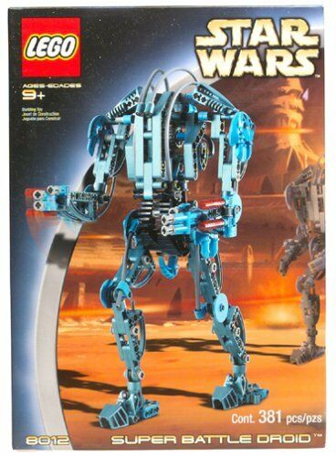 Lego Star Wars Technic 8012 Super BATTLE DROID
