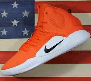 Nike-Hyperdunk-X-TB-Basketball-Shoe-Orange-Black-White-AT3866-800-Mens-size-14