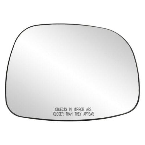 For Buick Rendezvous 02-07 Mirror Glass with Backing Plate Passenger Side Mirror