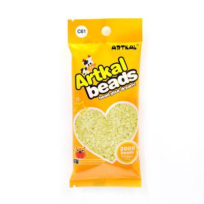Fuse Beads Original Artkal 2000stk Mini Bügelperlen 2,6mm C61 Feta