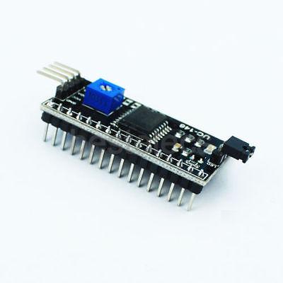 1602 16x2 HD44780 Character LCD Yellow Blue Display IIC/I2C Adapter Module