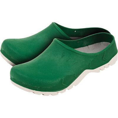 Garten Clogs Gartenclogs Schuhe Gartenschuhe Top Qualität Grün Gr 37-46 NEU