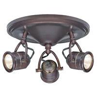 Hampton Bay 3-light Vintage Track Lighting Ceiling Wall Interior Lamp Fixture