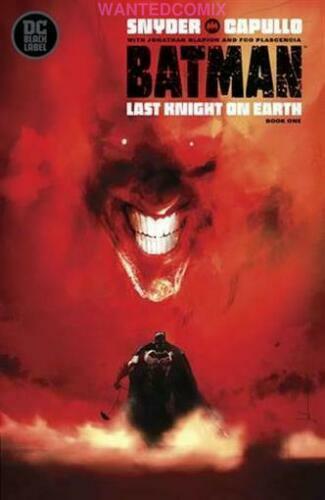 BATMAN LAST KNIGHT ON EARTH #1 JOCK VARIANT COVER PRESTIGE FORMAT COMIC BOOK NEW