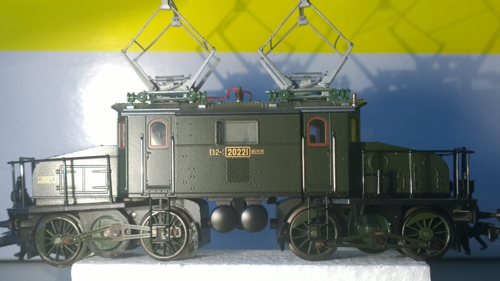K. Bay. Sts. Bahn  Eg 2 x 22 Ellok  TRIX 22000  NUOVO Corrente Continua