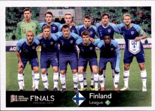 - UEFA Nations League Road to EM 2020 Finnland Sticker 466 Team Bild