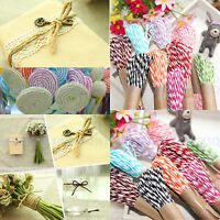 3 × 10M Divine Bakers Paper twine Wedding Party DIY Crafts Ribbon Packing Rope
