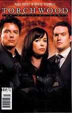 Torchwood: The Official Comic #2 Photo Variant Paul Grist Doctor Who